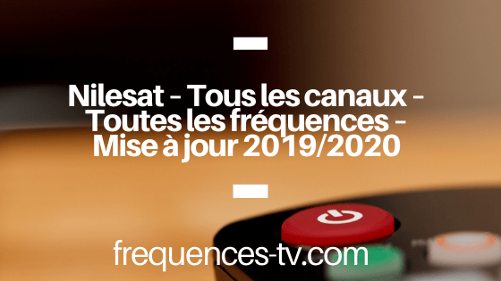 frequence nilesat