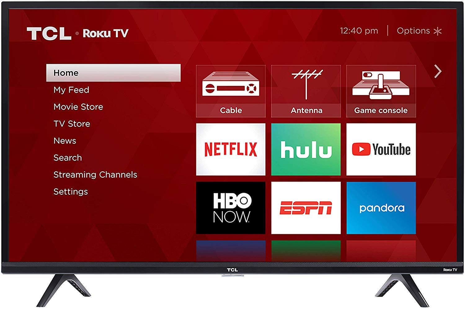 TCL 32S325 32 Inch 720p Roku Smart LED TV (2019)