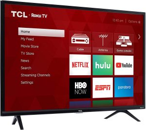 TCL 32S325 32 Inch 720p Roku Smart LED TV (2019)1